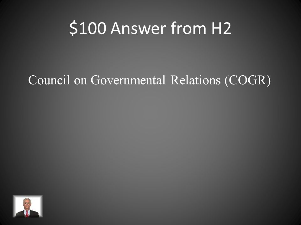 $100 Question from H2 An association of research universities located in the District of Columbia. Since its inception in 1948, the organization has b