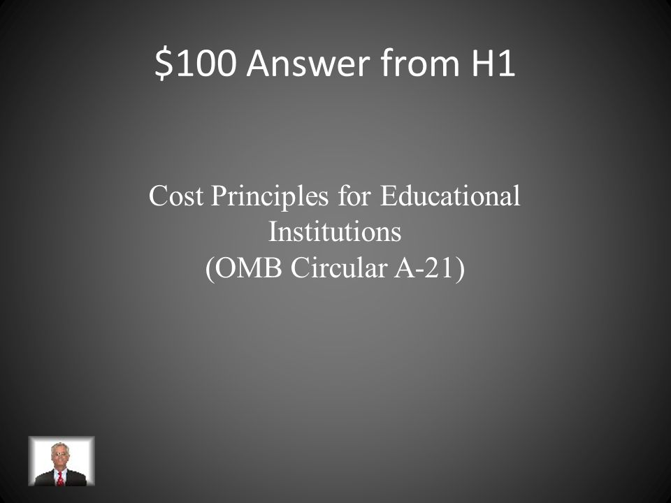 $100 Answer from H4 $50,000 Neither equipment nor participant support costs are assessed F&A based on MTDC.
