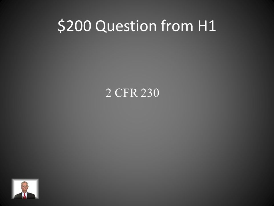 $200 Question from H4 An institution has a federally negotiated indirect cost rate of 40%.