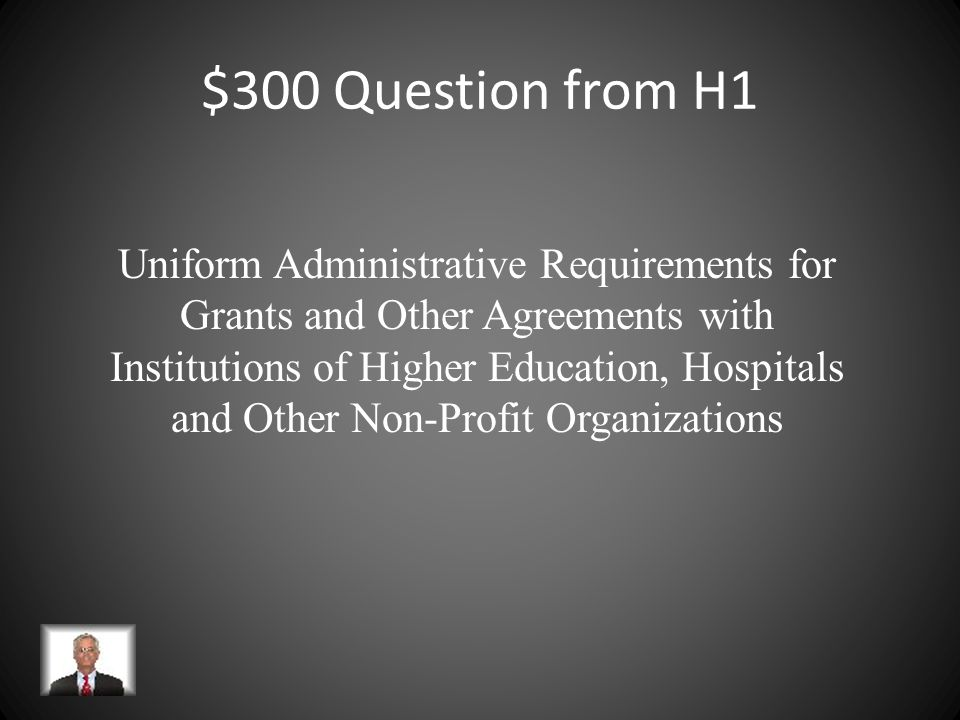 $300 Question from H3 Established by Congress in 1974 to provide overall direction for government-wide procurement policies, regulations and procedures and to promote economy, efficiency, and effectiveness in acquisition processes.