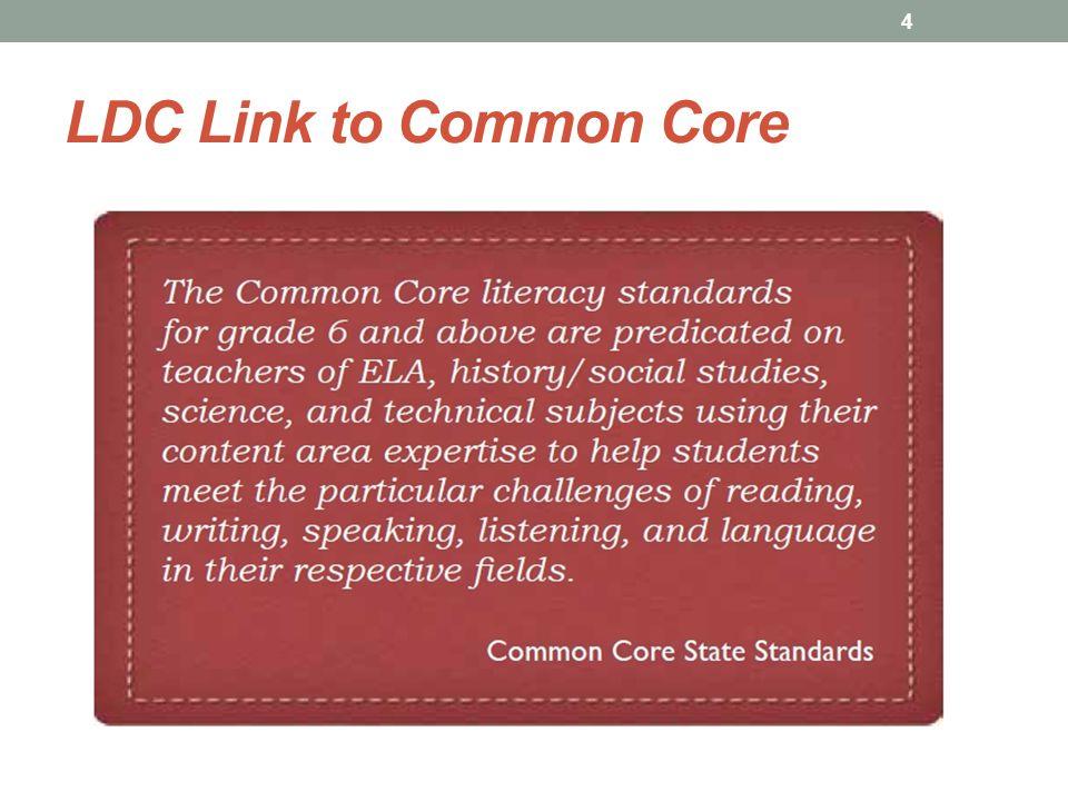 LDC Link to Common Core 4
