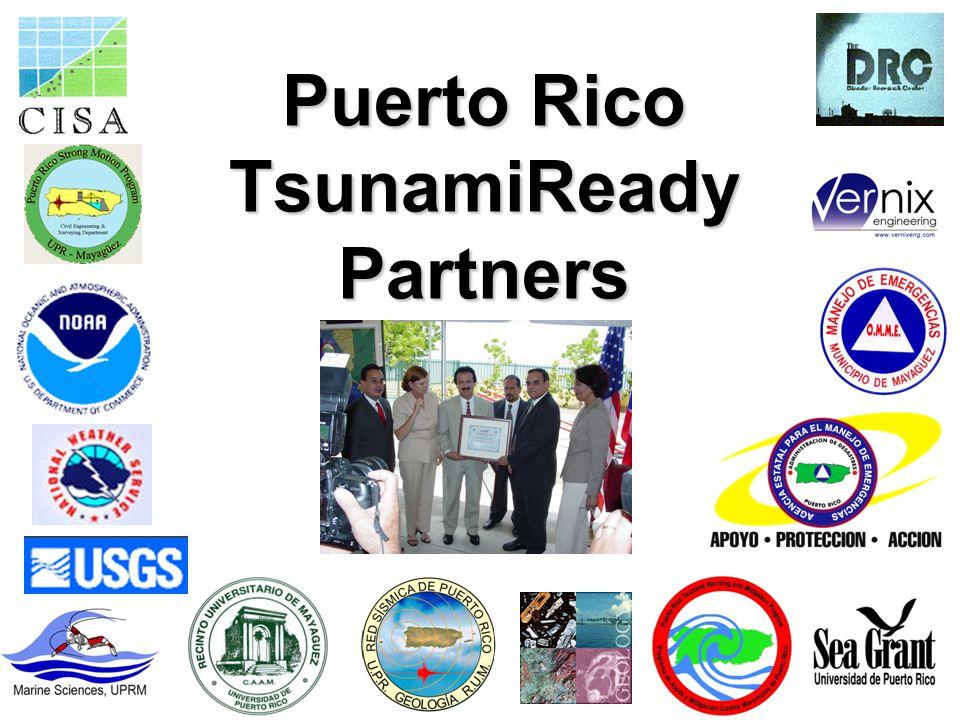 Puerto Rico TsunamiReady Partners
