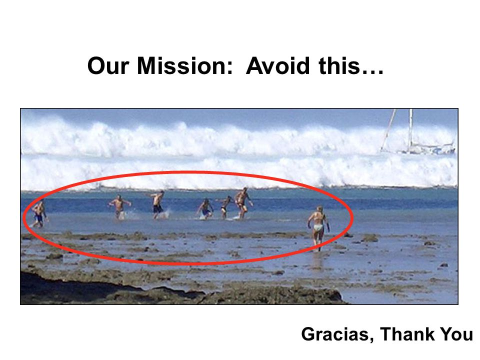 NY Times Our Mission: Avoid this… Gracias, Thank You