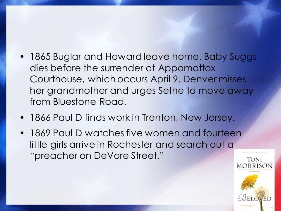 1865 Buglar and Howard leave home.