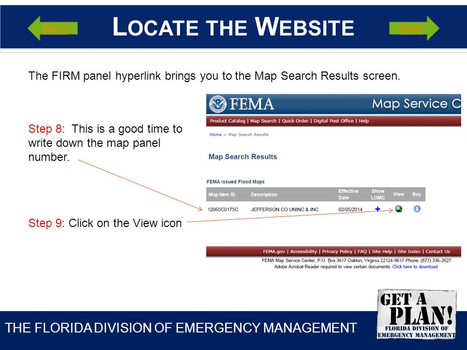 THE FLORIDA DIVISION OF EMERGENCY MANAGEMENT T IME TO P RACTICE .