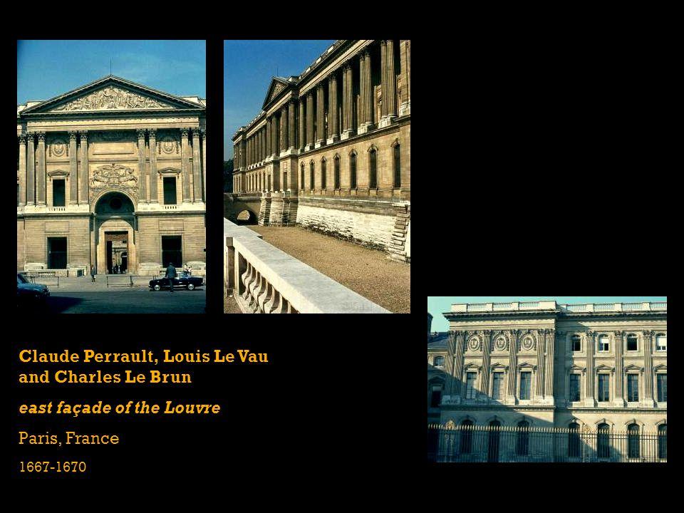 Claude Perrault, Louis Le Vau and Charles Le Brun east façade of the Louvre Paris, France 1667-1670
