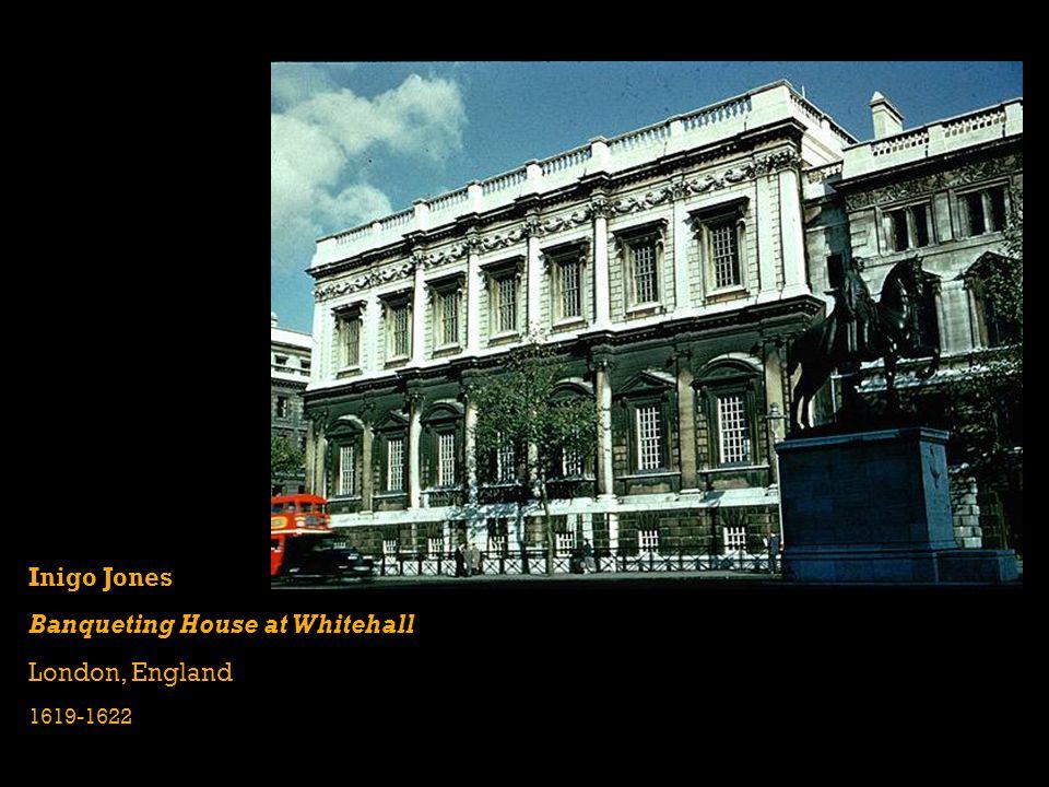 Inigo Jones Banqueting House at Whitehall London, England 1619-1622