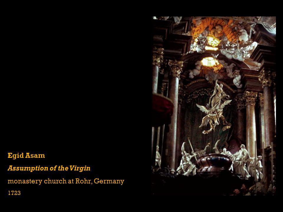 Egid Asam Assumption of the Virgin monastery church at Rohr, Germany 1723