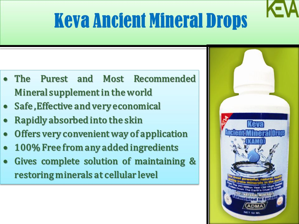 The Purest and Most Recommended Mineral supplement in the world The Purest and Most Recommended Mineral supplement in the world Safe,Effective and ver
