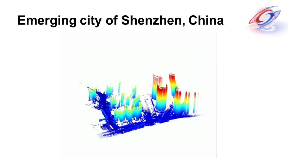 Emerging city of Shenzhen, China