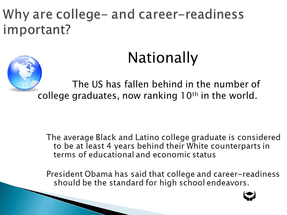 Why are college- and career-readiness important.