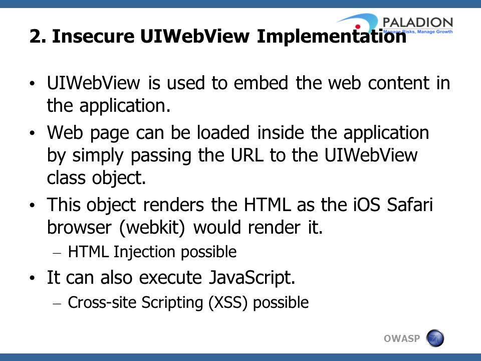 OWASP 2.