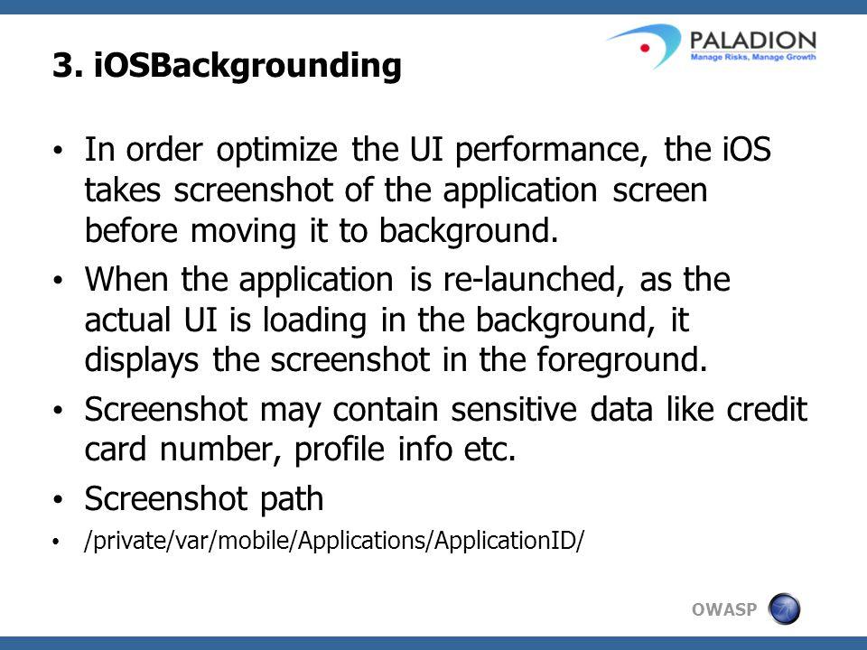 OWASP 3.