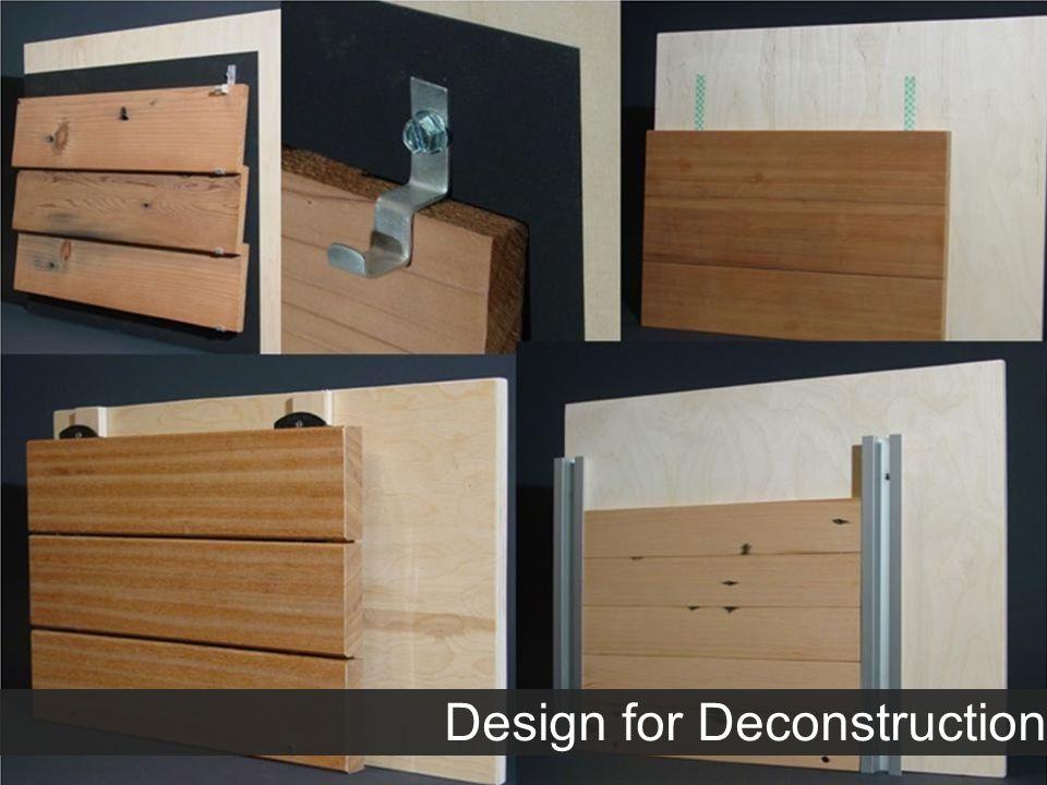 29 Design for Deconstruction