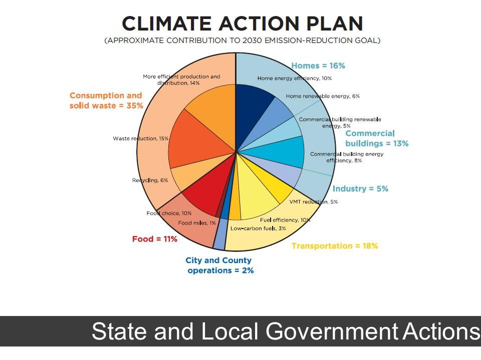 State and Local Government Actions