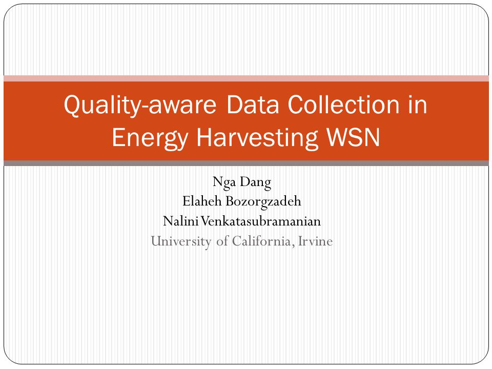Quality-Aware Energy Management in Energy Harvesting WSN