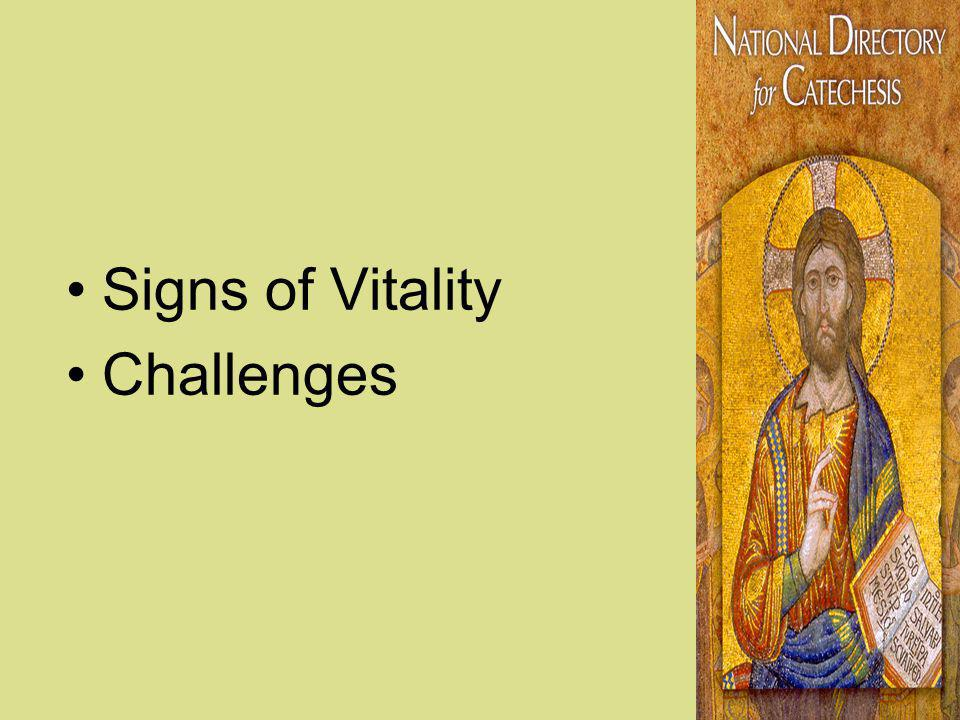 Signs of Vitality Challenges