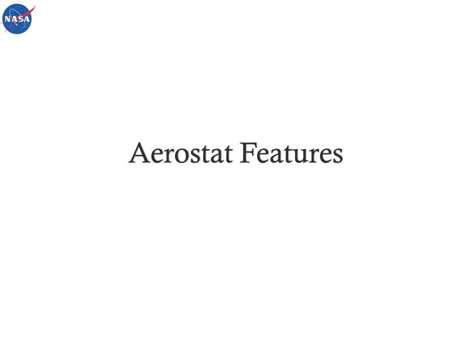 Aerostat FeaturesAerostat Features