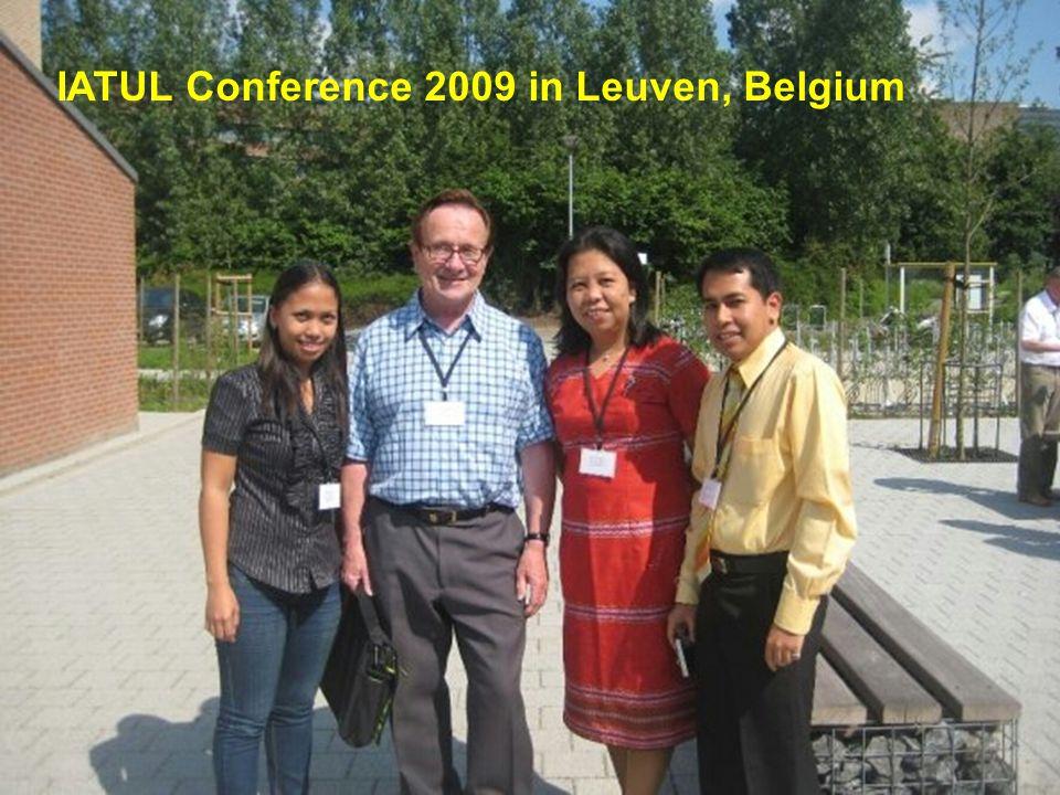IATUL Conference 2009 in Leuven, Belgium