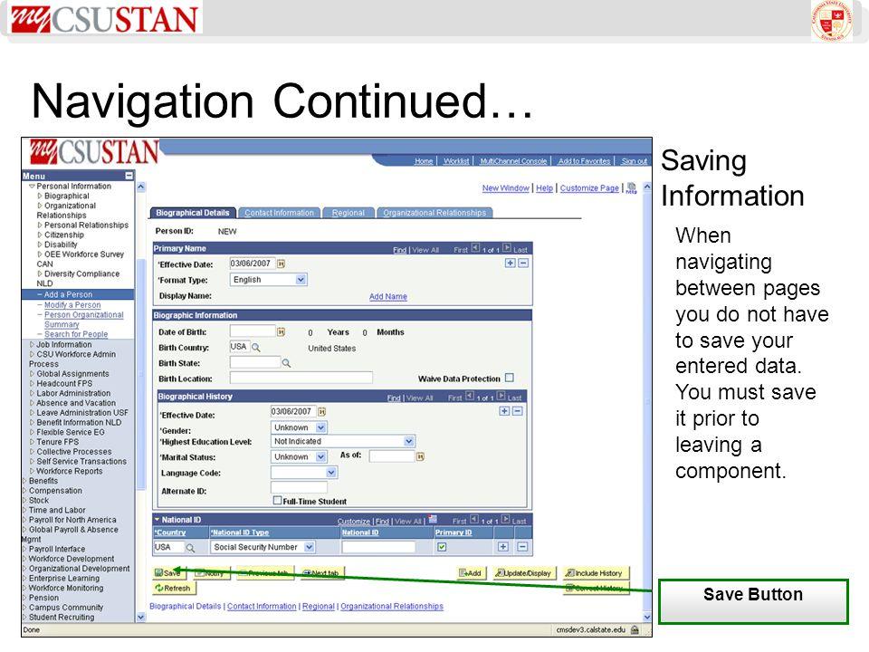 Sorting and Saving Search Results Saving Searches 1.Enter Search Criteria 2.Click Save Criteria 3.