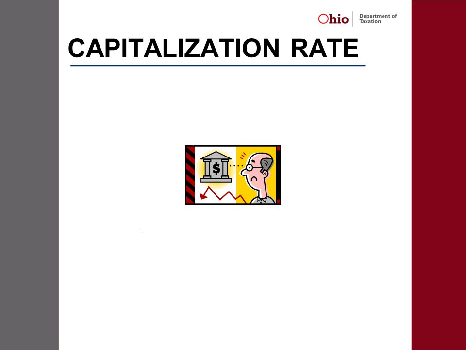CAPITALIZATION RATE _____________________________