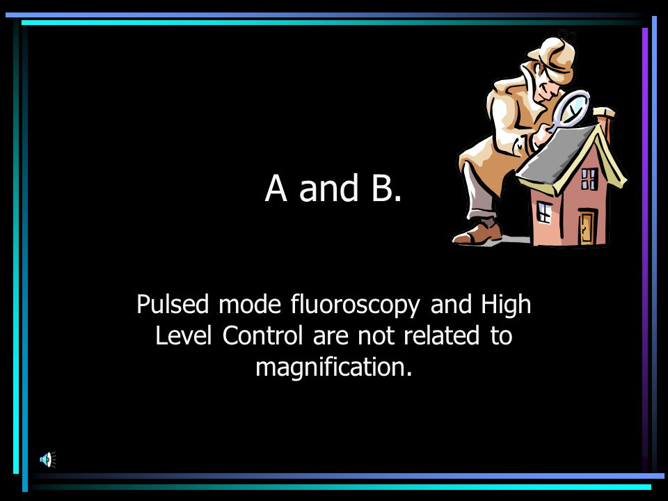 Switching to magnification mode in fluoroscopy A.