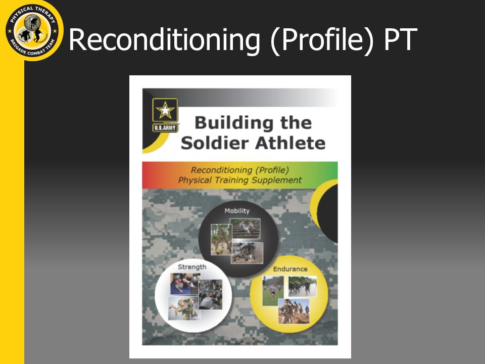 Reconditioning (Profile) PT