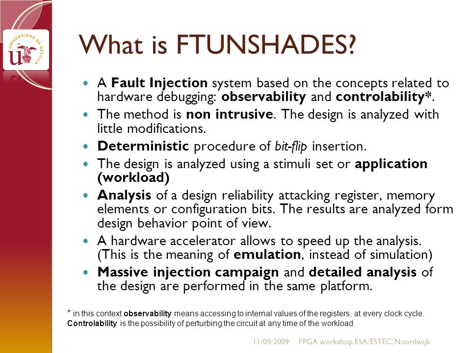 What is FTUNSHADES.