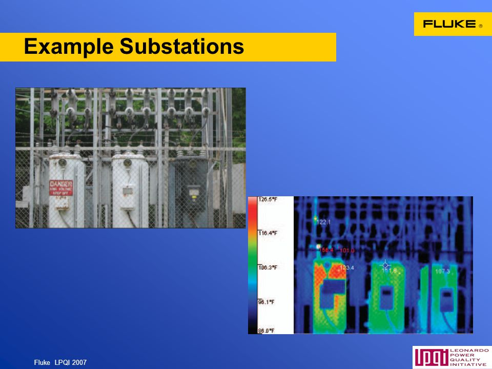 Fluke LPQI 2007 62 Example Substations