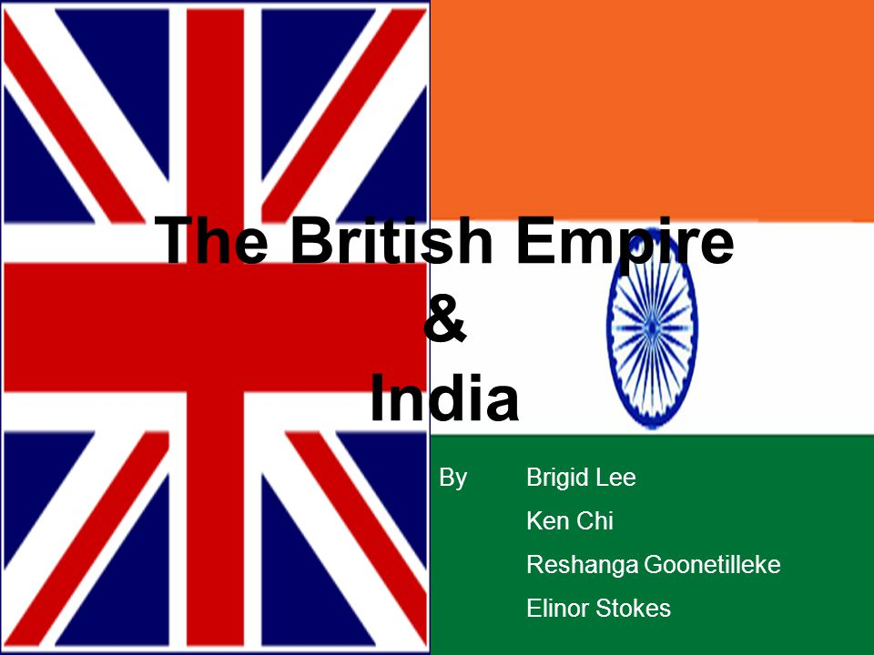 Wealth Benefits The British developed a few valuable products such as; indigo, tea, coffee, silk, etc.