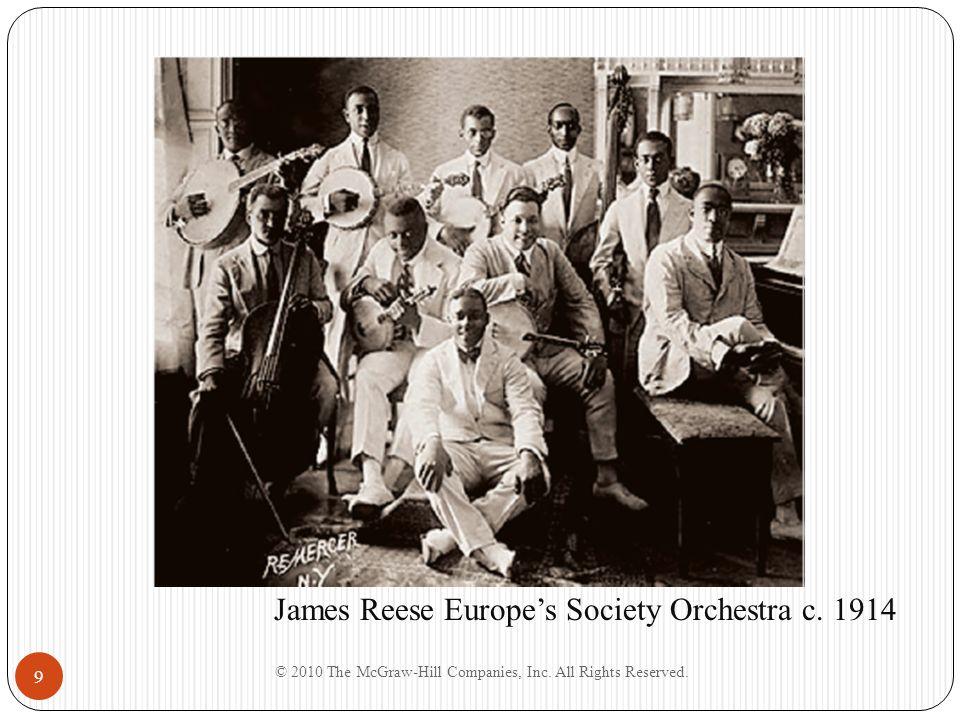 9 James Reese Europes Society Orchestra c. 1914