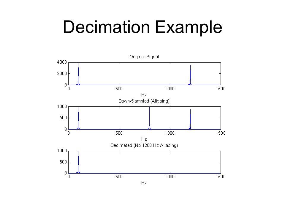 Decimation Example