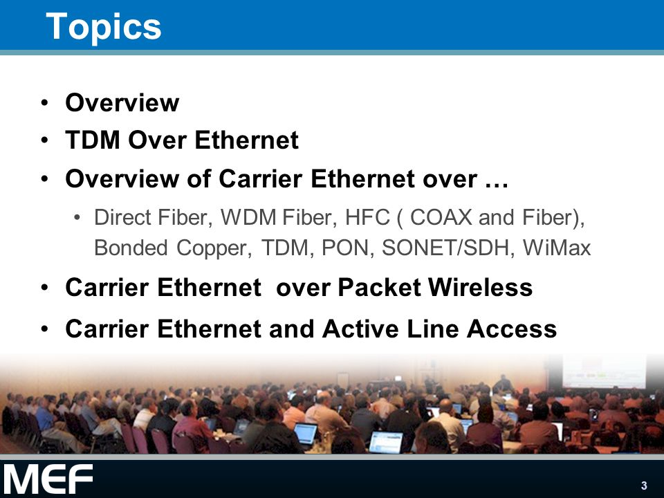 4 A key benefit of Carrier Ethernet is its ability to provide consistent, cost-efficient, high-performance services delivered to users … connected over the widest variety of access networks in any location Introduction: Extending Carrier Ethernet into the First Mile This presentation Describes how each access technology enables delivery of these and other Carrier Ethernet benefits to users connected to the worlds access networks MSO/ Cable Ethernet User to Network Interface (UNI) Ethernet Network to Network Interface (NNI) COAX Direct Fiber WDM Fiber DS3/E3 Bonded Copper Bonded T1/E1 Carrier 2 TDM Etherne t Direct Fiber SONET/ SDH PON Fiber Etherne t Carrier 1 Etherne t Packet Microwave Etherne t