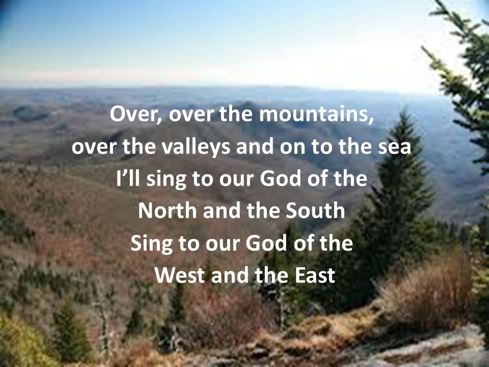 Son of God, Good News for the world May your song ring out to all of the earth Christ of my heart, Christ of my soul I sing of your love, wherever I go