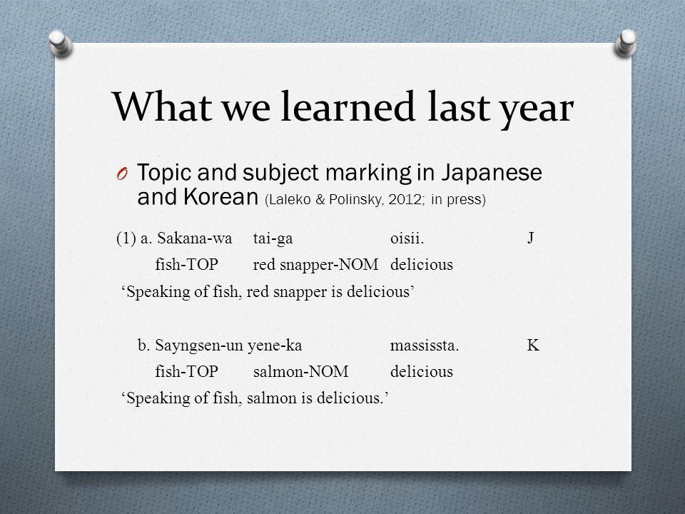 Classifiers (8) a.San-nin-no kodomo-ga uti-e kita.