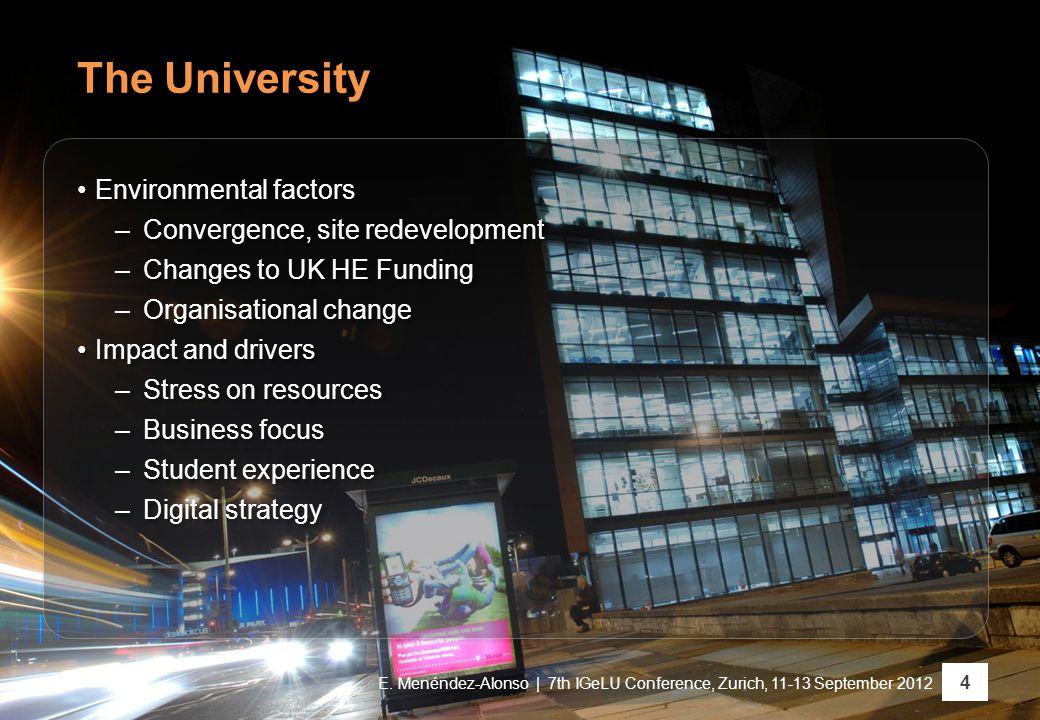 The University 4 E.
