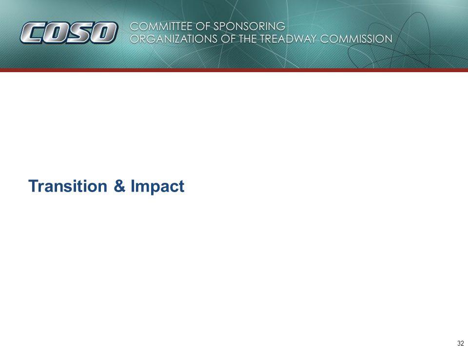32 Transition & Impact
