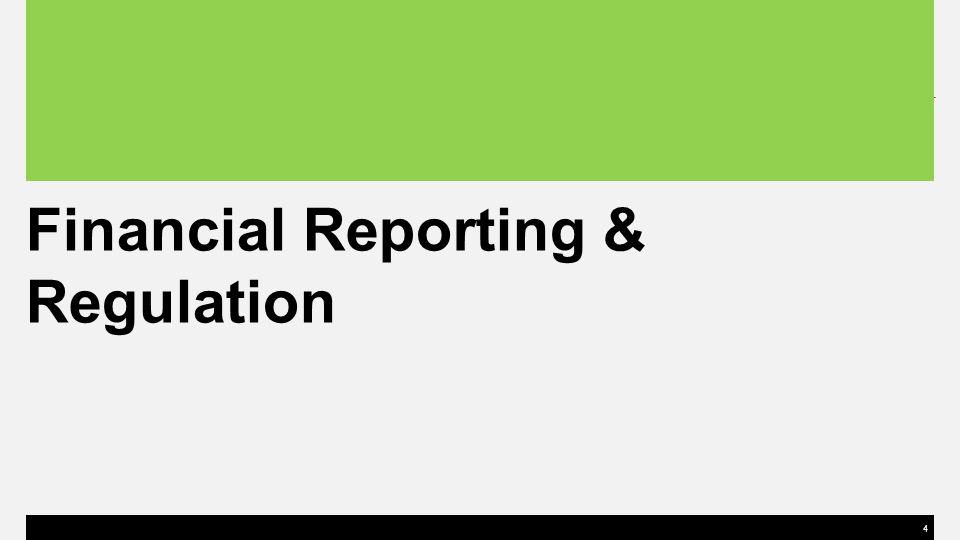 4 Financial Reporting & Regulation