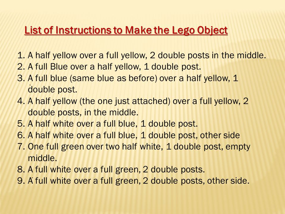 .. 1.A half yellow over a full yellow, 2 double posts in the middle.