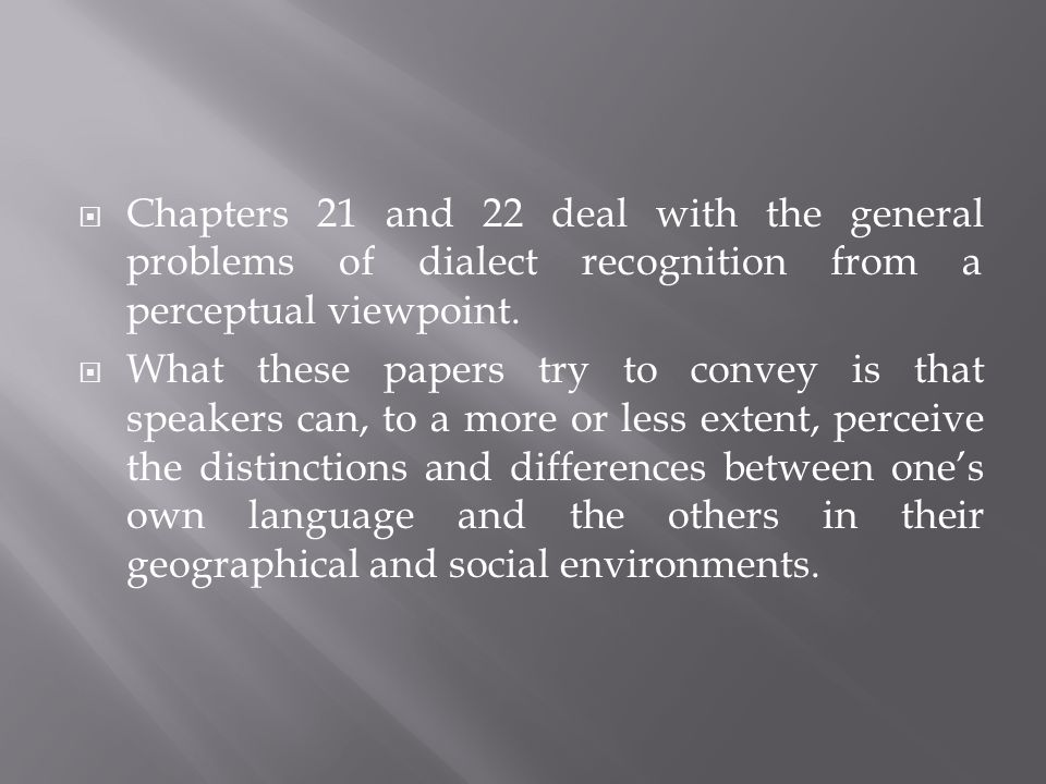 Volume 2 is more descriptive, consisting of a wide variety of individual case studies.
