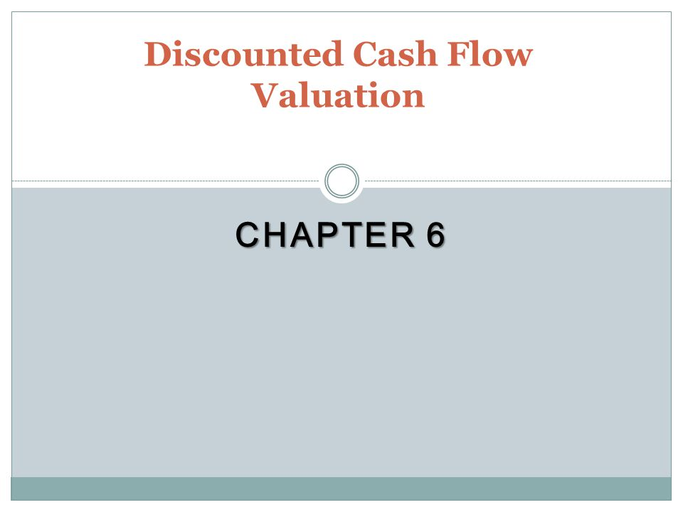 Key Concepts and Skills Be able to compute the future value of multiple cash flows Be able to compute the present value of multiple cash flows Be able to compute loan payments Be able to find the interest rate on a loan Understand how interest rates are quoted Understand how loans are amortized or paid off