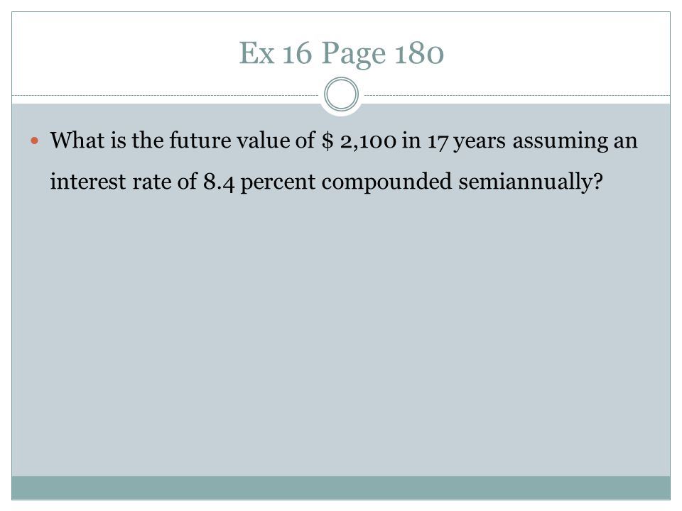 Present value of multiple Cash Flows Suppose you need $1,000 in one year and $2,000 more in two years.