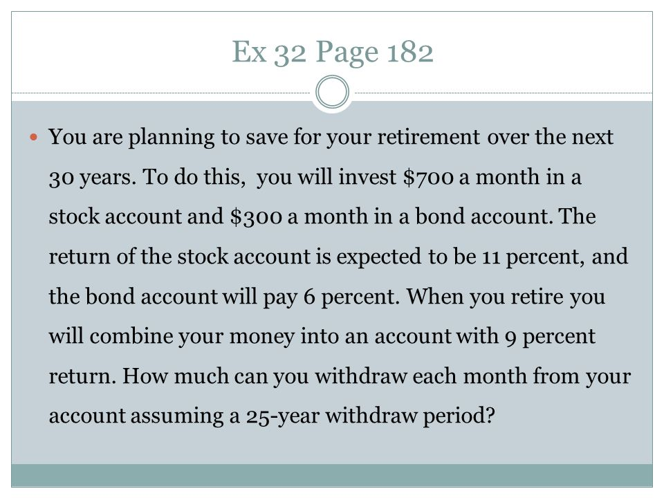 Ex 35 Page 182 Suppose an investment offers to triple your money in 12 months.