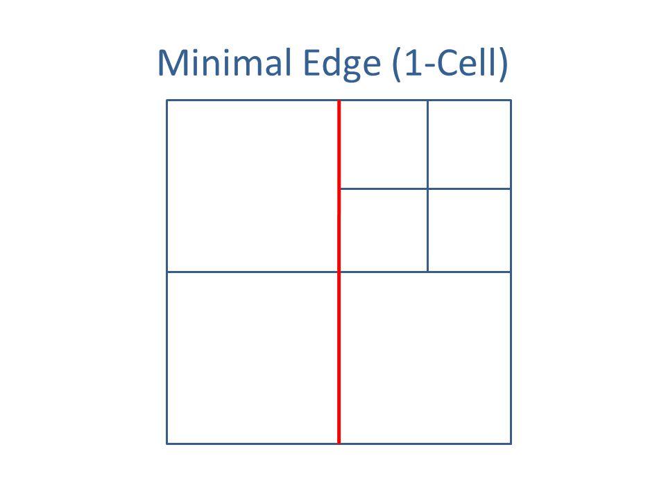 Minimal Edge (1-Cell)