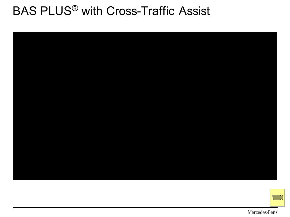 BAS PLUS ® with Cross-Traffic Assist