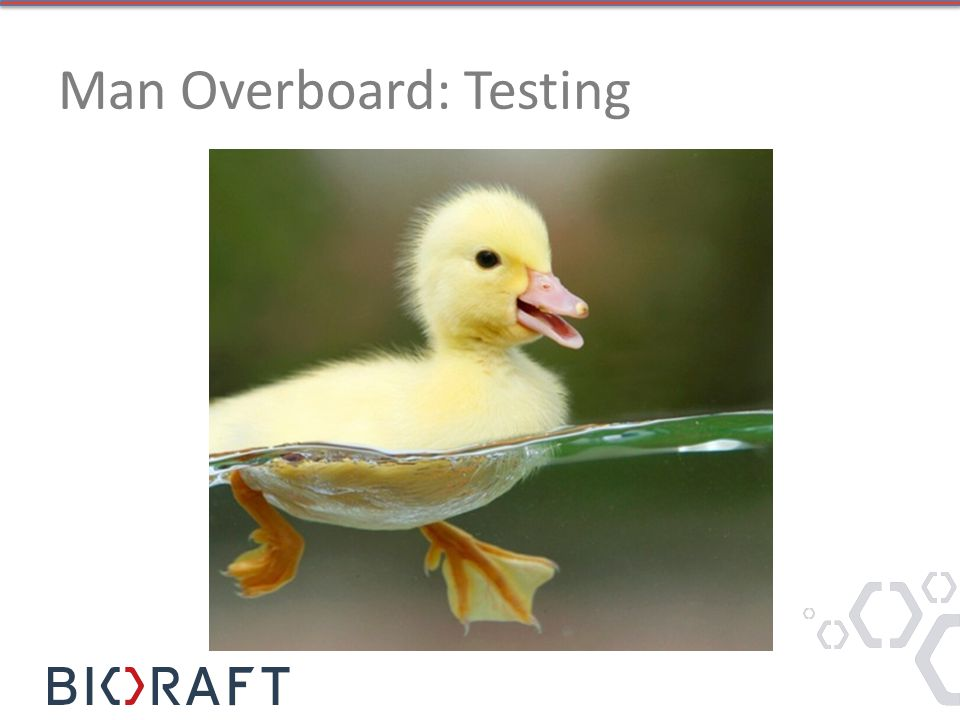 Man Overboard: Testing