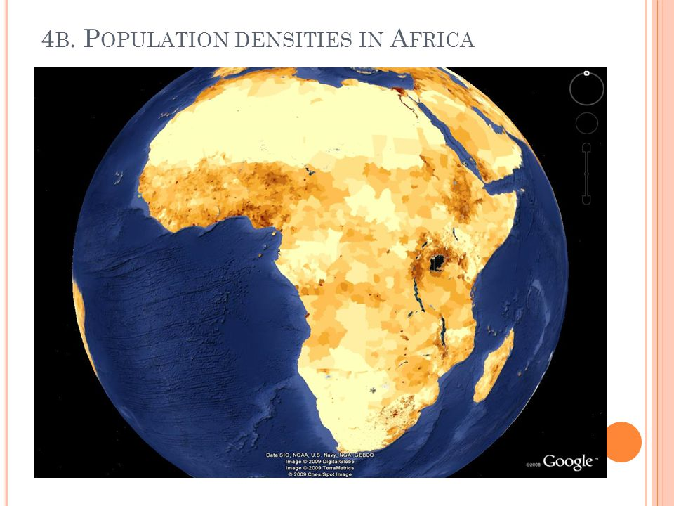 4 B. P OPULATION DENSITIES IN A FRICA