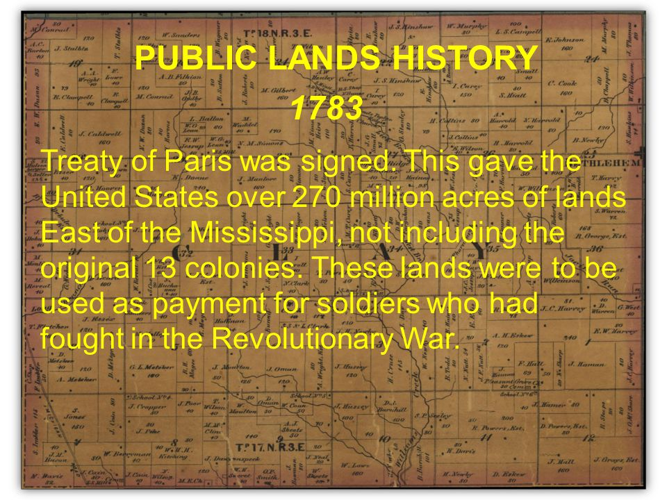 Treaty of Paris was signed.