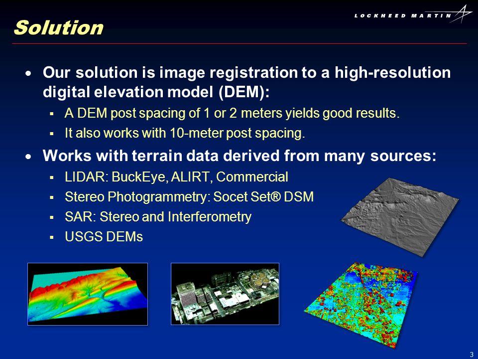 14 Example 3: Aerial Video Inputs: Aerial Video Over Arizona, U.S.