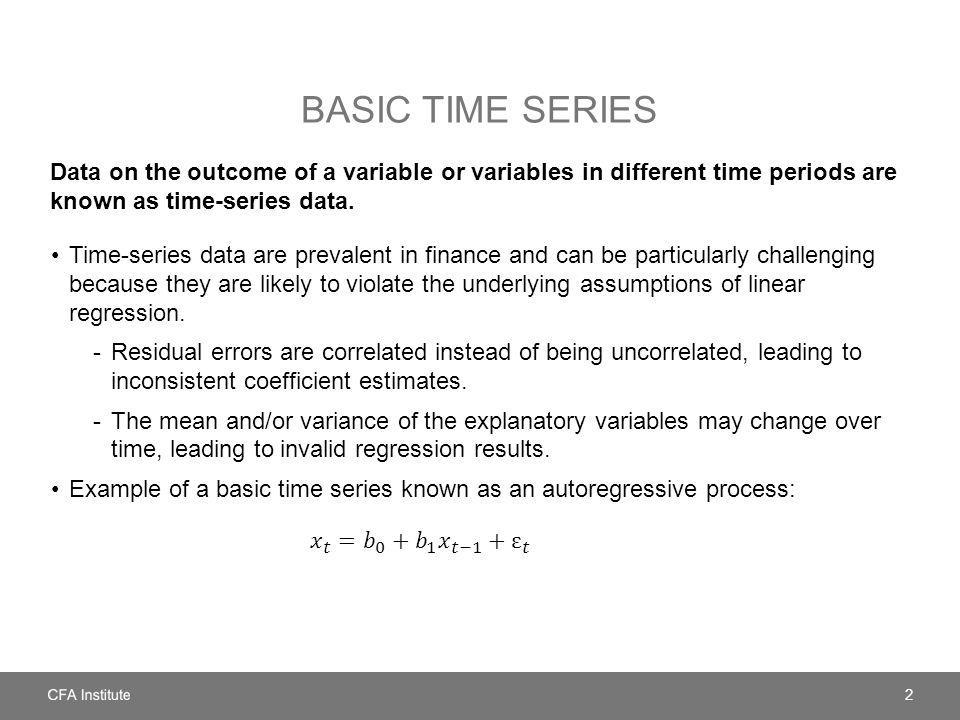 TREND ANALYSIS The most basic form of time-series analysis examines trends that are sustained movements in the variable of interest in a specific direction.